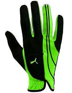 Puma YOUTH Kids Child Jr RIGHT HAND Form Stripe Golf Glove GREEN NWT  XL
