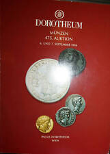 DOROTHEUM CATALOGUE 475/1994 ANCIENT AND WORLD COINS
