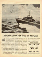 1943 Vintage ad for PACKARD`WWII era`Ship/Ocean (031214)