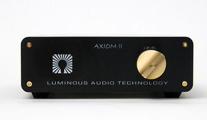 NEW Release! LUMINOUS AUDIO Axiom Mk. II passive pre amp.