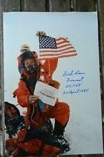 "Richard ""Dick"" Bass  Mount Everest   orig. Autogramm signed Autograph"