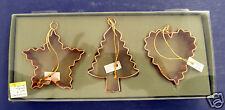 Midwest of Cannon Falls Cookie Cutter Ornaments- New- Retired- #529195- Set of 3