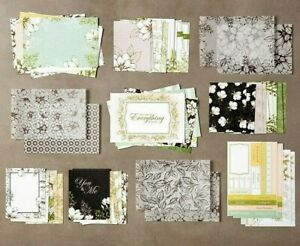 NEW Stampin' Up MAGNOLIA LANE Memories & More CARD PACK Retired Floral Kit