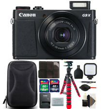 Canon PowerShot G9 X Mark II 20.1MP Digital Camera with 24GB Accessory Bundle