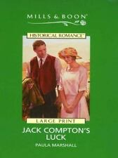 Jack Comptons Luck (Mills & Boon Historical Romance)-ExLibrary