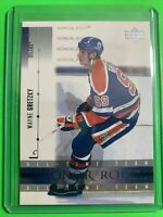2001-02 Upper Deck Honor Roll all-time team #2 Wayne Gretzky Edmonton Oilers