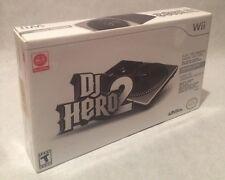 DJ Hero 2 [Bundle]  (Wii, 2010) Brand New Sealed
