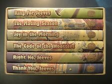 JEEVES & WOOSTER by P G Wodehouse Six (6) Volume Set. 1998 Folio Society, London