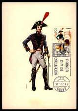 Spain Mk 1975 militares del ejército soldado uniforme uniformes maximum mapa mc cm ab87