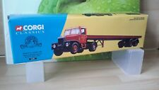 CORGI CLASSICS 16401 SCAMMELL HIGHWAYMAN ARTIC FLATBED TRAILER  - SIDDLE COOK