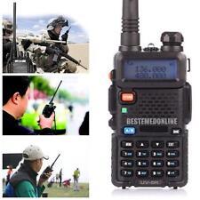 New Baofeng Uv-5R Radio Transceiver Walkie Talkie Dual Band Vhf/Uhf Two Way Ham