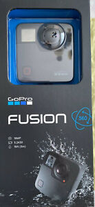 GoPro Fusion 360-degree Camera - Black (NEW)