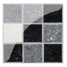 1/6/19/20pcs PVC Waterproof Tile Wall Sticker Kitchen Bedroom Tiles Decals Decor