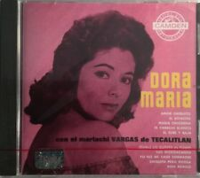 DORA MARIA Con El Mariachi Vargas de Tecatitlan CD Mexican Import Rare New Nuevo