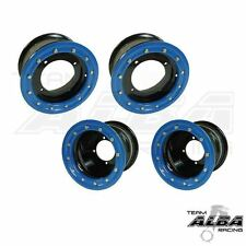 Raptor 700 660 350 250 125  Front  Rear Wheels  Beadlock 10x5  9x8  Alba BL 41