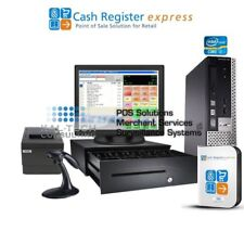 pcAmerica Cre Pos Cash Register Express Tobacco Stores & Smoke Shops 4Gb Support