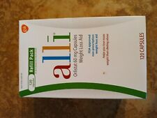 Alli (orlistat) Weight Loss Capsules - One Bottle of 120 Exp. 09/22 Retail $63