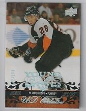 2008-09 Upper Deck Claude Giroux Young Guns Exclusives RC #/100 SP Rookie Flyers