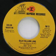 Pop 45 Dean Martin - Old Yellow Line / You'Ve Still Got A Place In My Heart On R