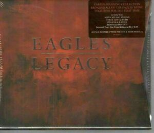 Eagles Legacy Collection 12 CD+1 DVD+1 Blu-ray Booklet BOX SET & NEW SEALED