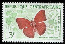 Scott # 7 - 1960 - ' Butterflies ', Cymothoe sangaris