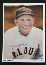 Rogers Hornsby - Reproduction of 1936 Pastel series baseball card