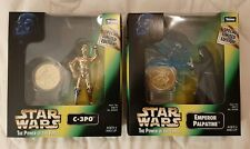 C-3PO and Emperor Palpatine - Power of the Force - Millenium Minted Coin 1998