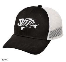 G.Loomis Bandit Trucker 3d Skeleton Fish Baseball Cap Black or Olive Navy/white