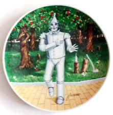 "WIZARD of OZ TIN MAN ""IF I ONLY HAD A HEART"" LTD. ED.KNOWLES PLATE + RARE BONUS!"