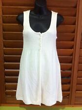 Wish Designer Womens Beige Knitted Dress - Size L