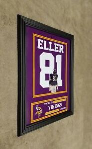 Carl Eller Minnesota Vikings Framed 8x10 Jersey Photo