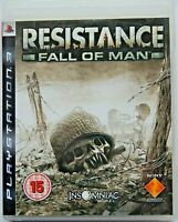 Resistance: Fall of Man (Sony PlayStation 3, 2007, PAL) PS3 Region Free