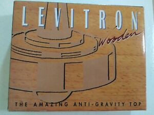 Levitron Wooden The Amazing Anti-Gravity Top Great Classic Toy Unique Quality