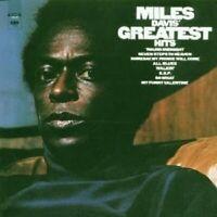 "MILES DAVIS ""GREATEST HITS"" CD NEW+"