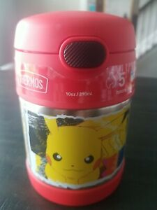 NEW Thermos Pokemon 10oz FUNtainer Pikachu Charizard Food Jar with Spoon Red