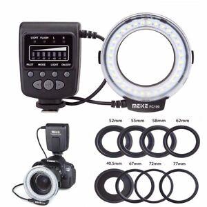 Meike FC-100 Macro Ring Flash/Light For Canon Nikon Olympus Panasonic Pentax