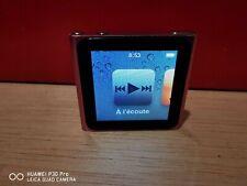 Apple iPod nano 8 GB 6th Generation - Pink