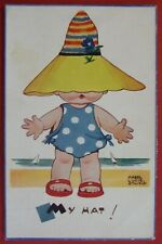 MABEL LUCIE ATTWELL Postcard POSTED 1960 MY HAT!