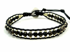 Crystal Silver Plated Leather Fashion Bracelets