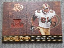 Terrell Owens 2004 Playoff Hogg Heaven Game Used Football Piece #77/250