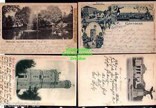 119364 4 AK Göttingen Litho Allee mit Gebhards Hotel Bismarck Turm 1898 Theatrum