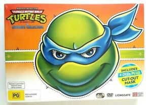 Lionsgate Cowabunga TMNT The Ultimate Collection Movie DVD 4 Disc Set Tv Series