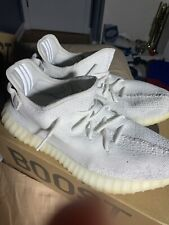 Adidas Yeezy Boost 350 V2 Cream/Triple White size 10.5 - Og All - 100% Authentic