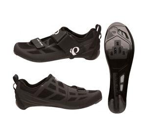 Pearl Izumi Select Fly Tri V6 Triathlon Shoes - Black / Grey