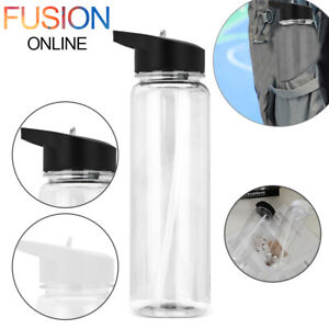 Sports Water Bottle 750ml Gym Travel Clear BPA Free Leakproof Drinking Bottles