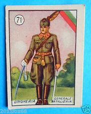figurines cromos cards figurine v.a.v. vav 71 la guerra nostra ungheria generale