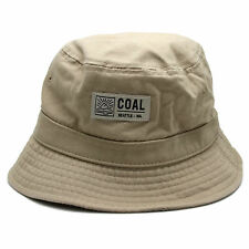 Coal Headwear Seattle Washington Khaki Colored Bucket Hat Sunhat Outdoors Small