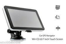 "704 7"" Truck Car GPS Navigation Navigator with Free maps Win CE 6.0 EU Map NEW J"