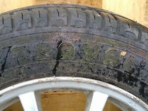 Volvo Alloy wheel and tyre 185 65 r15