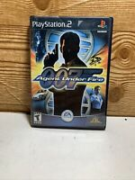 James Bond 007 in Agent Under Fire PlayStation 2 PS2 - Complete- Tested
